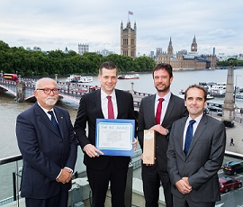 Cargo Incident Notification System receives BIC Award  sm