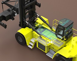 HYSTER ELECTRIC CONTAINER TRUCK IN DEVELOPMENT - sm