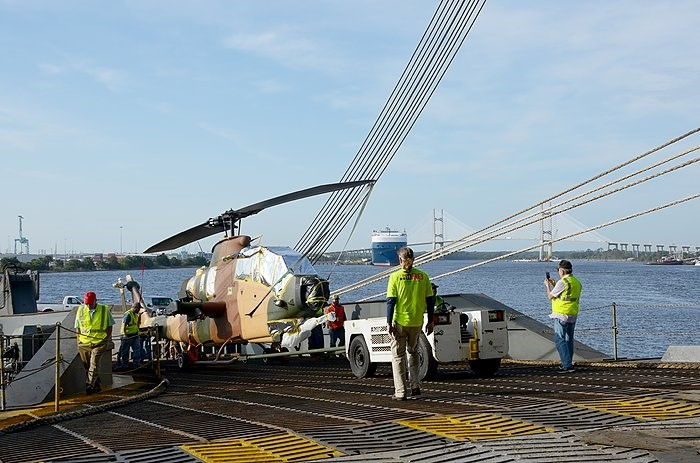JAXPORT - state-of-the-art helicopters move through-sm