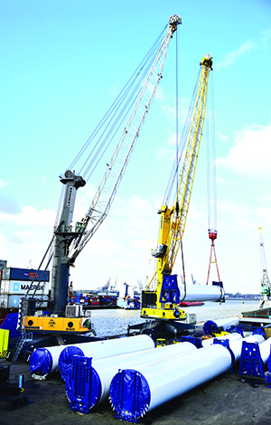 Rotterdam - quicker handling of advanced project and heavy cargo-sm